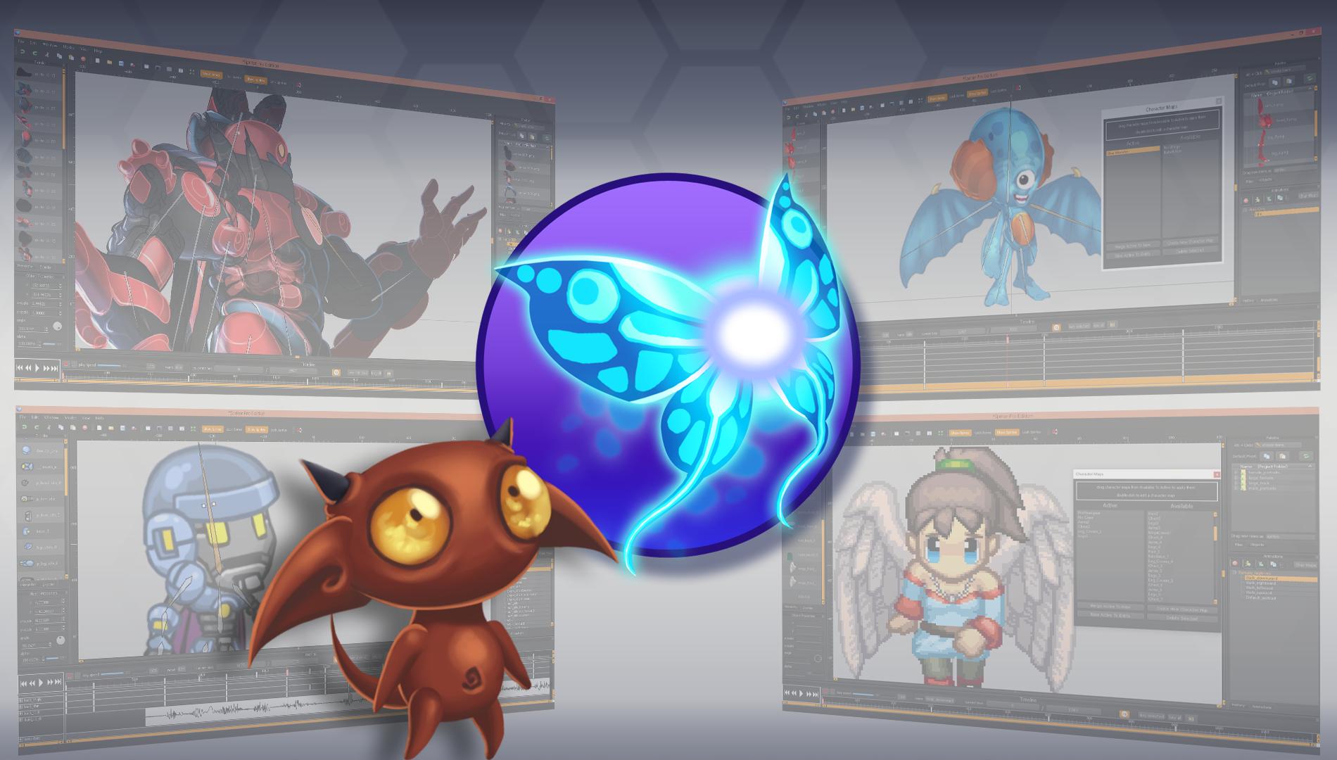 2d Character Design Software Download : Spriter d sprite animation character creation software